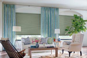 Design Studio™ Duette® Honeycomb Shades for Living Room Windows Near Boise, Meridian & Eagle, Idaho (ID)