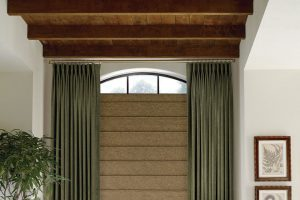 Design Studio™ Modern Roman Shades for Dining Rooms in Homes Near Boise & Meridian, Idaho (ID)