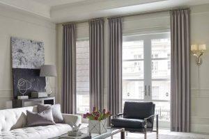 Design Studio™ Roman Shades for Home Living Rooms Windows Near Boise, Meridian & Eagle, Idaho (ID)