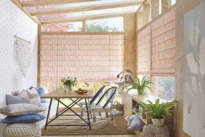 Design Studio™ Roman Shades for Sun Rooms in Homes Near Boise, Meridian & Eagle, Idaho (ID)