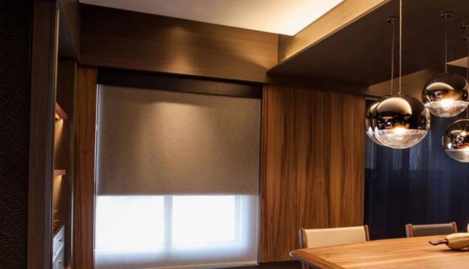 Norman Soluna™ Roller Shades to affix modern, functional window fashions near Meridian, Idaho (ID)