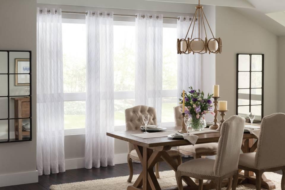 Window treatment ideas, custom window coverings, window blinds, drapery, window shades near Meridian, Idaho (ID)